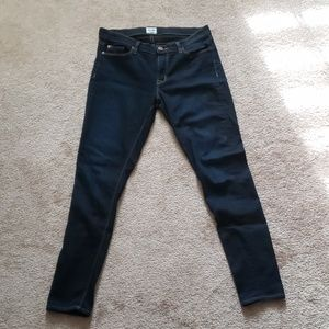 Hudson Dark Wash Slim Fit Jeans